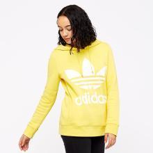 Adidas 三叶草 女款套头衫休闲运动连帽衫卫衣 CE2413