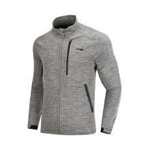 李宁卫衣男士新款训练系列长袖外套立领男装运动服AWDN359