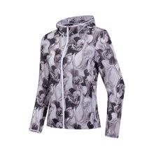 李宁风衣女士新款跑步系列长袖防风服连帽外套修身春季运动服AFDN062