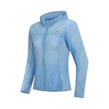 李宁风衣女士新款跑步系列长袖防风服防泼水皮肤衣夏季运动服AFDN056