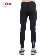 Zoano/佐纳 春夏男士新款运动紧身长裤打底跑步训练健身
