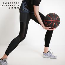运动系列 2018新品 兰卓丽旗下运动品牌动动嗒嗒束腿运动显瘦九分裤 32040001