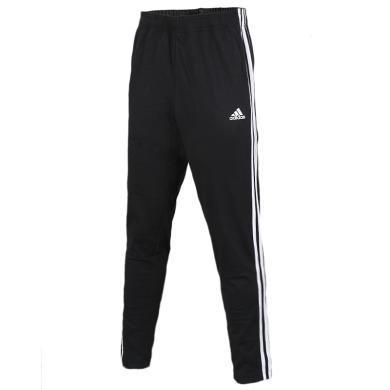 Adidas阿迪達斯男褲運動褲休閑長褲針織直筒褲BK7414