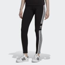 阿迪达斯 三叶草女子三条纹运动健身瑜伽弹力紧身运动长裤 DV2636