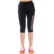 德尔惠夏季新款女针织裤舒适休闲透气运动七分裤62620325