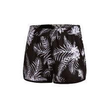 李宁运动短裤女士2018新款户外系列沙滩裤综合薄款女装夏季运动裤AKSN086