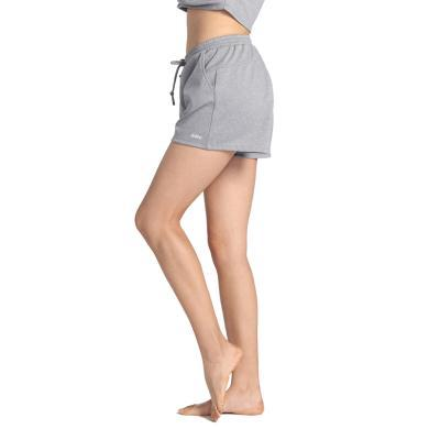 佐纳新款女 口袋运动裤 瑜伽服跳舞轻薄透气宽松短裤子