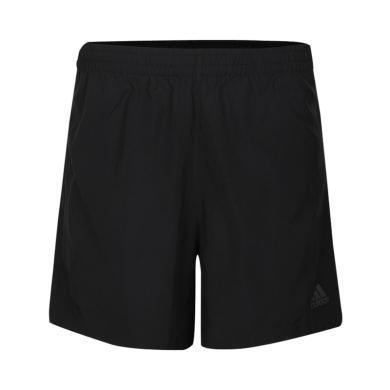 adidas阿迪達斯2019男子OWN THE RUN 2N1梭織短褲DQ2526