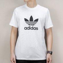 阿迪达斯三叶草短袖男 2018夏季运动服休闲跑步半袖健身T恤CW0709