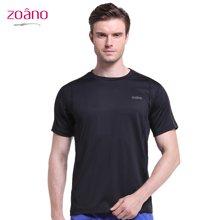 佐纳(ZOANO) 运动短袖T恤健身训练跑步服高弹紧身上衣