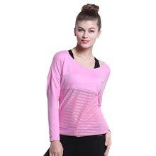 佐纳(ZOANO) 瑜伽健身服 春夏运动上衣宽松长袖T恤 WYT61126