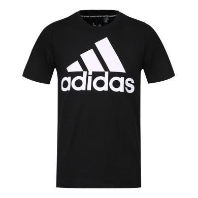 adidas阿迪達斯2019男子MH BOS Tee圓領短T恤DT9933