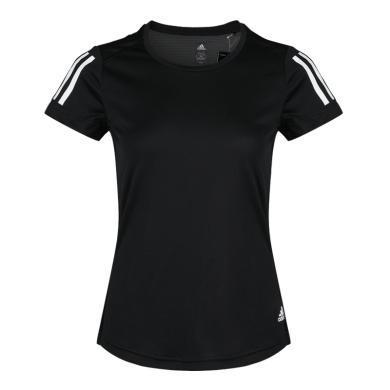 adidas阿迪达斯2019女子OWN THE RUN TEE圆领短T恤DQ2618