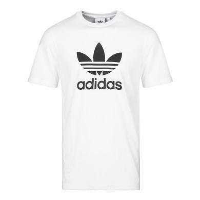 adidas Originals阿迪三叶草2019男子TREFOIL T-SHIRT圆领短T恤CW0710