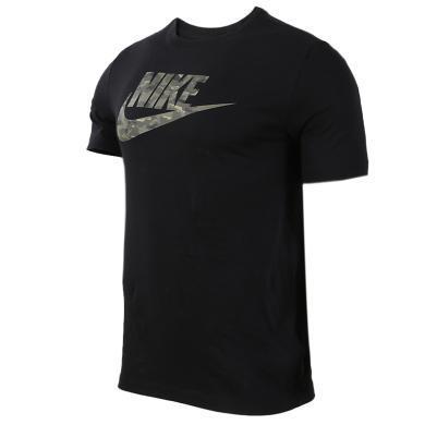 NIKE耐克男裝新款短袖T恤舒適休閑透氣運動針織衫BQ5368