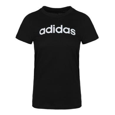 adidas阿迪达斯2019女子W E LIN SLIM T圆领短T恤DP2361