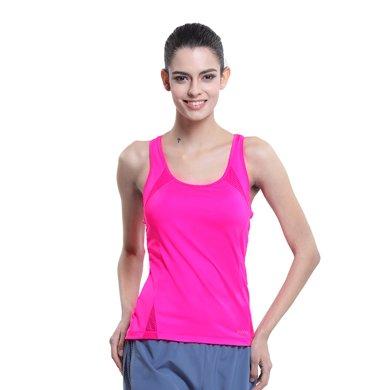 佐納(ZOANO) 夏季 女 百搭修身網球運動 跑步 速干修身上衣 運動透氣 無袖背心