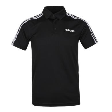adidas阿迪達斯2019男子D2M 3S Polo短T恤DT3048