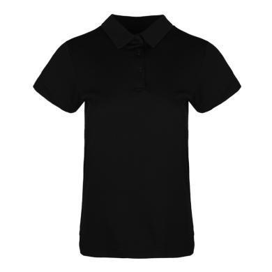adidas阿迪达斯2019女子CLMCH W POLO SLPOLO短T恤DV2253