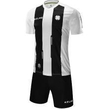 KELME卡尔美足球服套装男条纹足球训练服组队球衣3881018