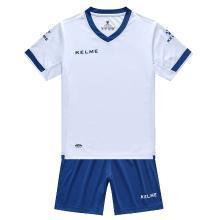 卡尔美儿童足球服套装校园短袖足球训练服小孩学生定制球衣K15Z212C