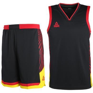 匹克 籃球服男2019夏季新款透氣速干男子吸濕排汗籃球訓練比賽套裝籃球服 籃球服套裝 匹克 專柜同款DF793031