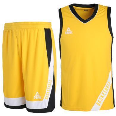 匹克籃球服男夏季新款時尚印花透氣速干吸濕排汗籃球訓練 籃球服 籃球服套裝DF793051