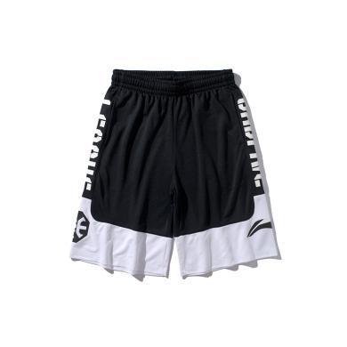 李寧BADFIVE籃球系列男子寬松比賽褲AAPP307