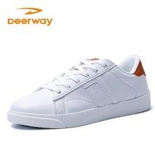 德爾惠女學生板鞋散步鞋系列潮流百搭休閑運動板鞋51823830