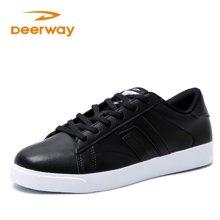 德尔惠男板鞋散步鞋系列潮流百搭休闲运动板鞋51813821