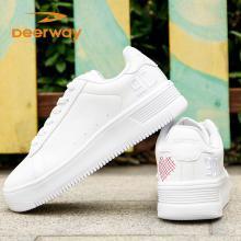 德尔惠女鞋板鞋女子运动鞋秋冬休闲鞋低帮学生小白鞋滑板鞋韩版54823802