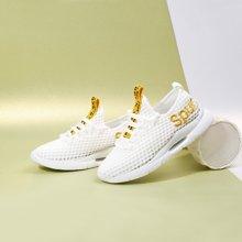 运动鞋女跑步鞋网面鞋透气夏季缓震休闲潮流韩版旅游女鞋潮鞋T22823436