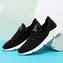 夏季男鞋新款跑步鞋透气网面运动鞋男子休闲跑步旅游鞋学生跑鞋T22813445