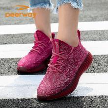 德尔惠秋季新款女士运动跑步鞋休闲鞋简约百搭潮63823307