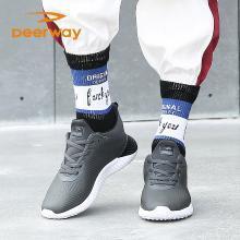 德尔惠秋季新款男士运动跑步鞋休闲鞋简约百搭潮23813605