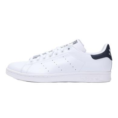 adidas阿迪三葉草男女 STAN SMITH 史密斯經典藍尾小白鞋休閑鞋M20325