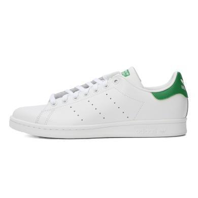 adidas阿迪三葉草中性 STAN SMITH 史密斯綠尾小白鞋休閑鞋M20324