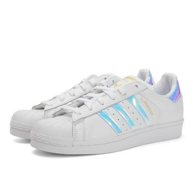 adidas Originals阿迪三葉草2019女子SUPERSTAR W三葉草系列休閑鞋EG2919
