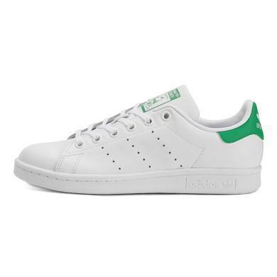 adidas Originals阿迪三葉草2019中性大童STAN SMITH J 休閑鞋M20605