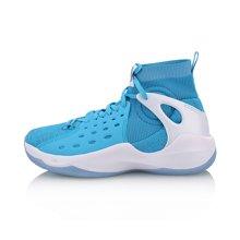 李宁篮球鞋男鞋音速VI 新款减震一体织袜子鞋高帮夏季运动鞋ABAN021