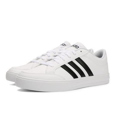 adidas阿迪達斯新款男子VS SET籃球場下休閑系列籃球鞋BC0130