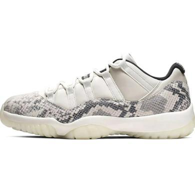 Air Jordan 11 Low AJ11 白蛇 純白 蛇紋 CD6846 002
