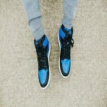 Air Jordan 1 AJ1 黑藍 皇家藍 限量籃球鞋 555088 575441 007