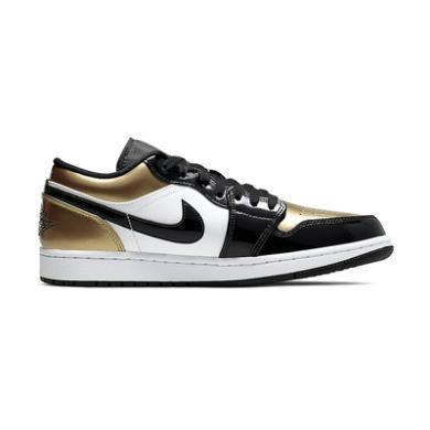 Air Jordan 1 Low AJ1 黑金腳趾 低幫籃球鞋 CQ9447 700