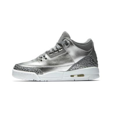 Air Jordan 3 GS AJ3 ?#24213;?#29190;裂 熊猫黑白 篮球鞋 441140 506 022