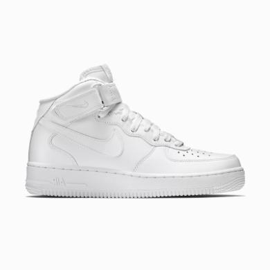 Nike Air Force 1 Mid 中帮 纯白 休?#34892;?366731 100 315123 111