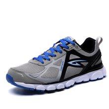 德尔惠男鞋春季网面透气跑步鞋男士耐磨运动鞋轻便舒适炫酷慢跑鞋T22613661