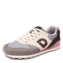 运动鞋女跑步鞋女春季德尔惠女鞋透气复古慢跑鞋潮旅游女休闲跑鞋T3424510