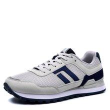 德尔惠男鞋复古跑步鞋运动跑鞋透气运动鞋新款72614509
