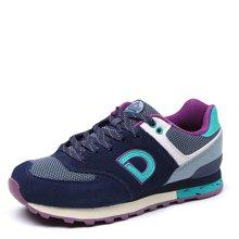 德尔惠女鞋跑步鞋新款春季复古运动鞋女轻便慢跑鞋休闲旅游鞋73624522